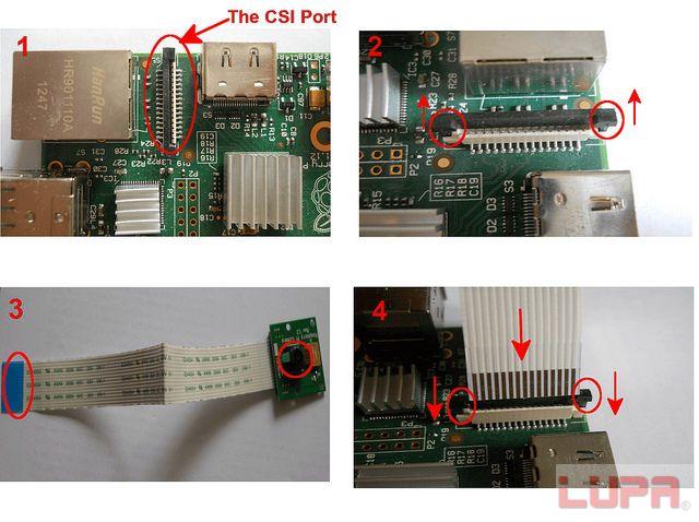 如何安装树莓派摄像头模块
